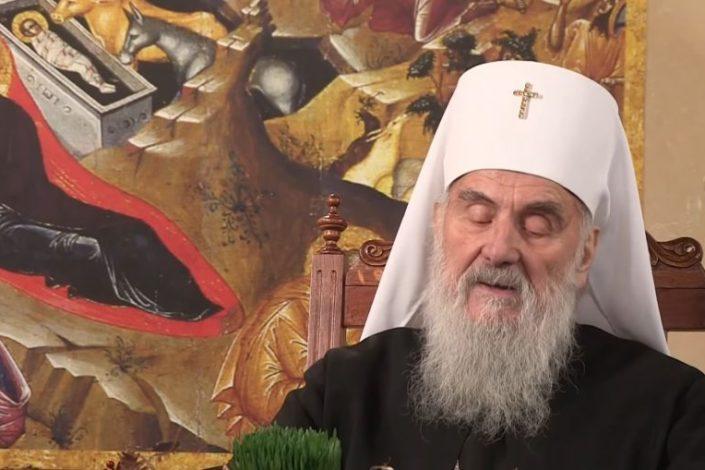 Patrijarh Irinej ipak neće predvoditi litiju u Podgorici 29. februara