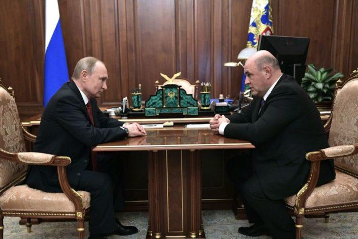 Putin smenio kompletnu vladu i predložio Mihaila Mišustina za premijera