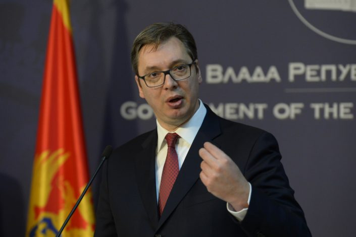 Vučić: Ne idem u Crnu Goru, tamošnji režim traži alibi (VIDEO)