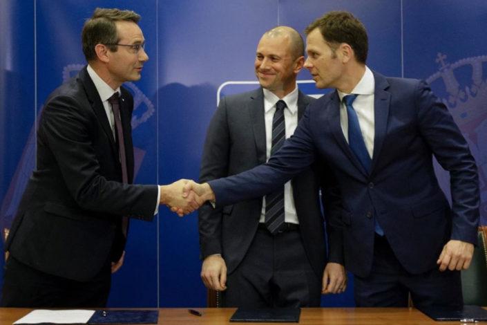 Potpisan ugovor o prodaji Komercijalne banke