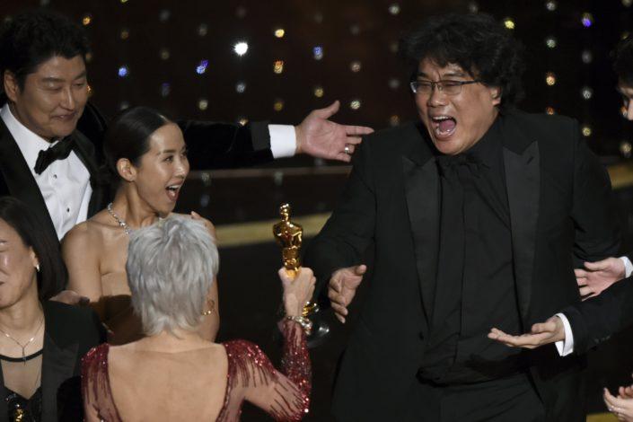 "Istorijski Oskar južnokorejskom filmu ""Parazit"""
