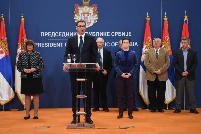 Vučić proglasio vanredno stanje: Staje život da bismo spasili život