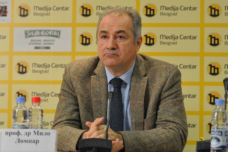 Професор др Мило Ломпар (Фото: Медија центар Београд)