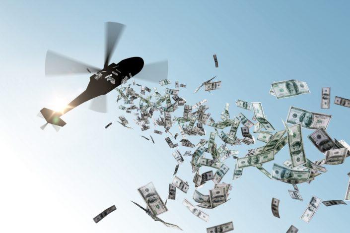 """""""Novac iz helikoptera"""" je geopolitička prekretnica"""