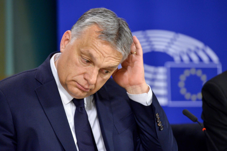 Мађарски премијер Виктор Орбан у просторијама Европског парламента (Фото: European Parliament)