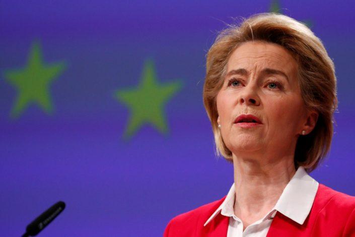 Predsednica Evropske komisije se izvinila Italijanima