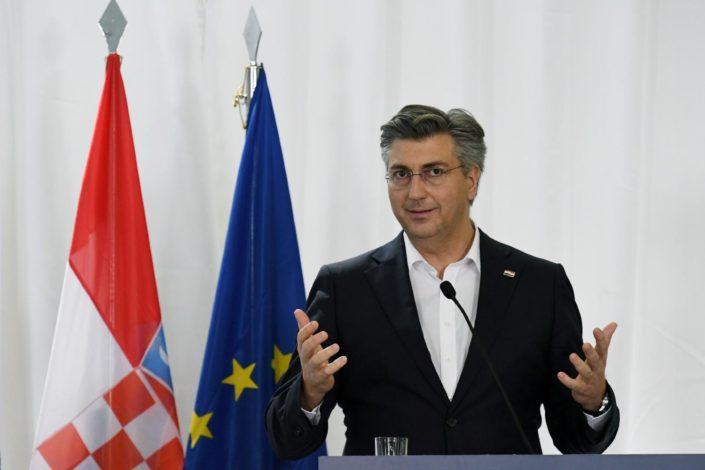 Plenković: Maj 1945. u Hrvatskoj je sinonim za zločine