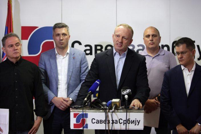 Danas: Savezu za Srbiju sledi prekomponovanje ili razlaz