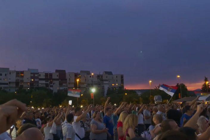 Hiljade građana u Crnoj Gori uprkos zabrani obeležilo Vidovdan