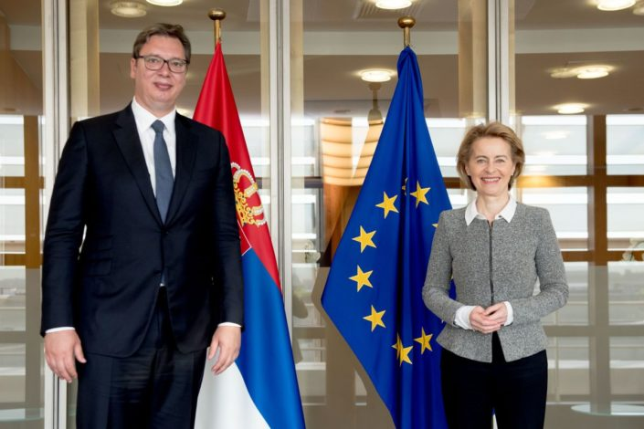 Vučić: Razgovarao sam sa Fon der Lajen, očekujem da Srbija do 2026. postane članica EU