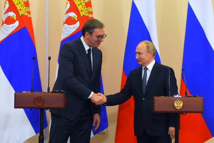 Vučić se sastao sa Putinom u Moskvi, demantuje navode o sastanku sa Trampom