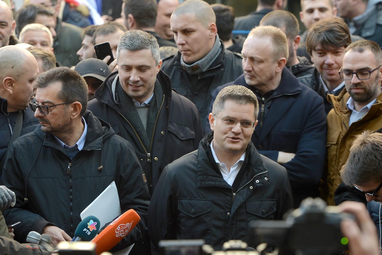 Лидери опозиционог Савеза за Србију (Фото: Танјуг/Зоран Жестић)
