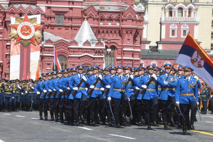 U Moskvi održana parada povodom 75. godišnjice pobede u Drugom svetskom ratu