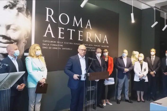 """Otvorena izložba """"Roma Eterna"""" u Novom Sadu"""