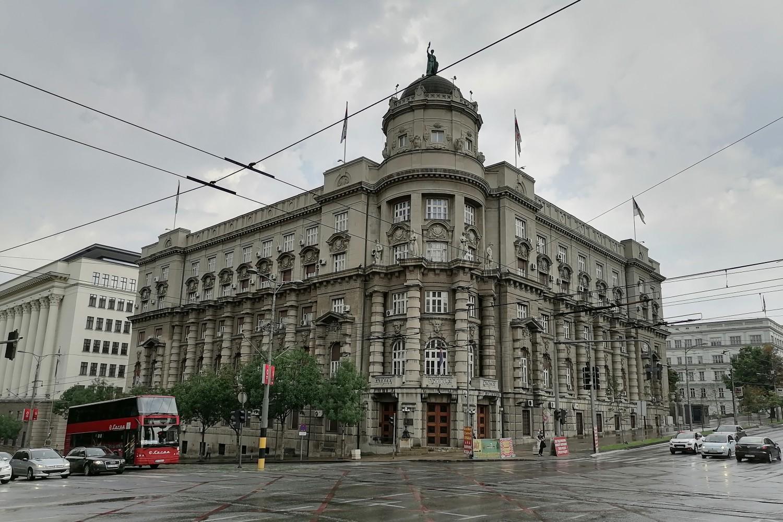 Zgrada Vlade Srbije (Foto: Radomir Jovanović/Novi Standard)