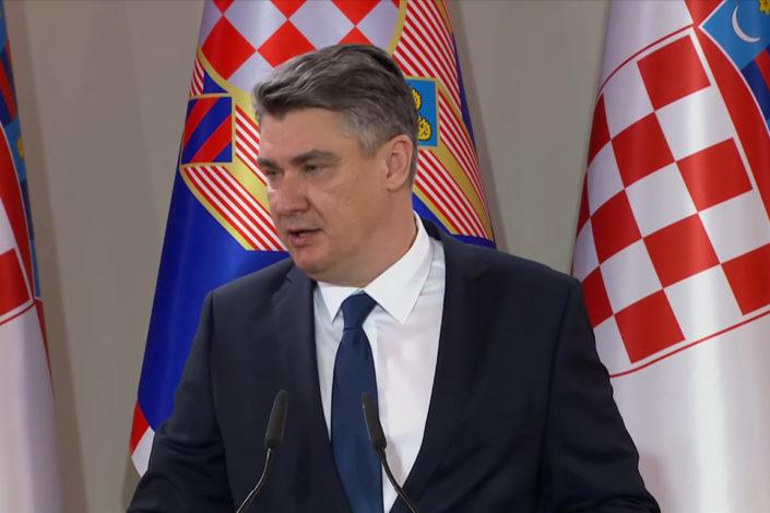 Milanović: Dozvoliti Hrvatima ono što im pripada po Dejtonu