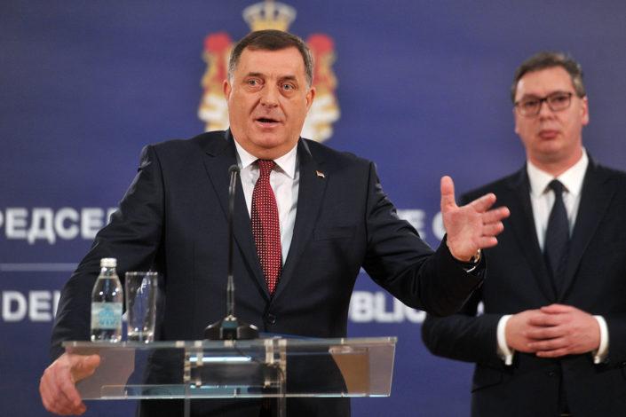 Dodik: Dokument predat Vučiću, biće poslat Milanoviću i Izetbegoviću