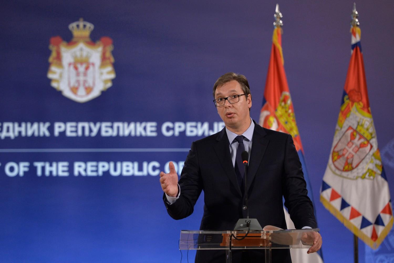 Председник Србије Александар Вучић (Фото: Танјуг/Раде Прелић)