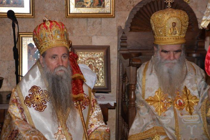 Mitropolit ostavio testament, otvaranje u prisustvu Joanikija