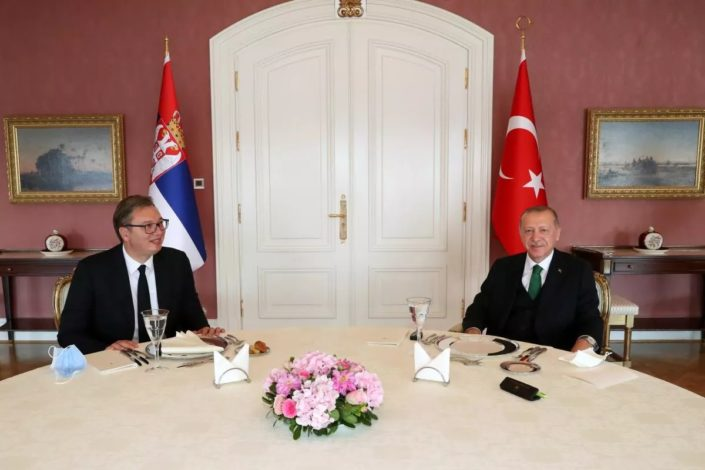 Vučić se sastao sa Erdoganom