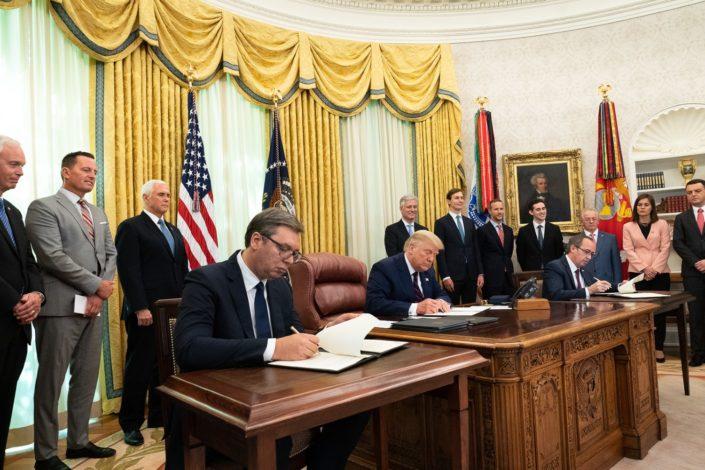 Ambasada SAD: Promena vlasti neće uticati na Vašingtonski sporazum