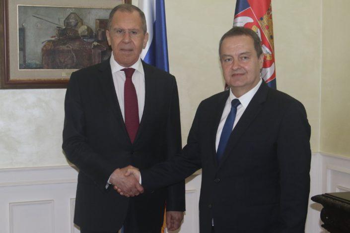 Dačić: Lavrov mi je rekao da je žestoko kritikovao Zaharovu