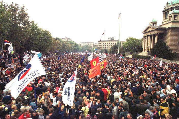 Dvadeset godina od Petog oktobra, uspon i pad jedne revolucije