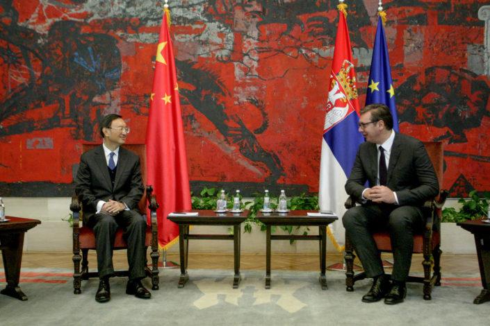 Vučić sa Jangom: Srbija i Kina razvijaju odnose u svim sferama