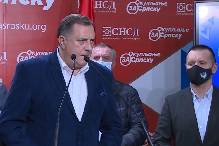 Dodikov SNSD izgubio Banjaluku, Bakirov SDA Sarajevo