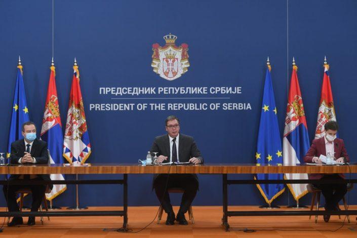 Vučić obavestio Vladu: Ne prihvatamo stav Prištine o ZSO