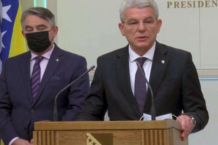 Komšić i Džaferović su bili upoznati s planom posete Lavrova BiH