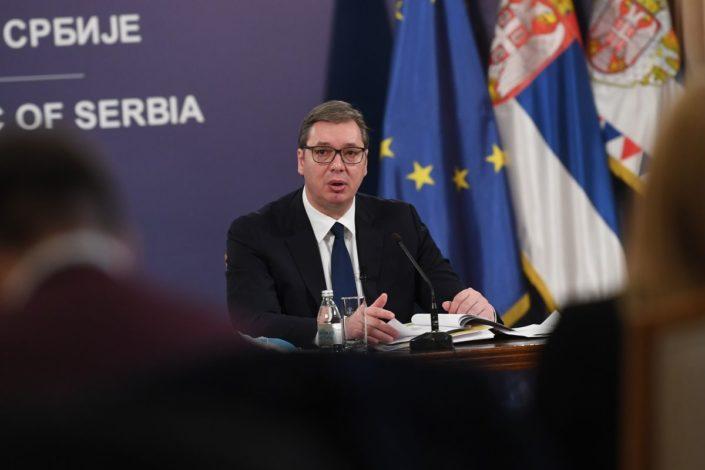 Vučić: Grčka povećava nivo odnosa sa Prištinom, uzdamo se da neće priznati KiM
