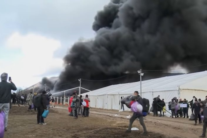 P. Ćeranić: Zašto su migranti zapalili kamp u Lipi