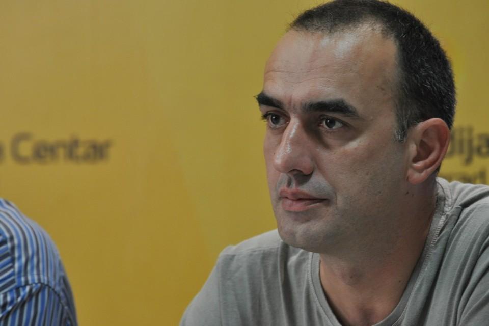 Programski direktor Nezavisnog društva novinara Vojvodine Dinko Gruhonjić (Foto: Medija centar Beograd)