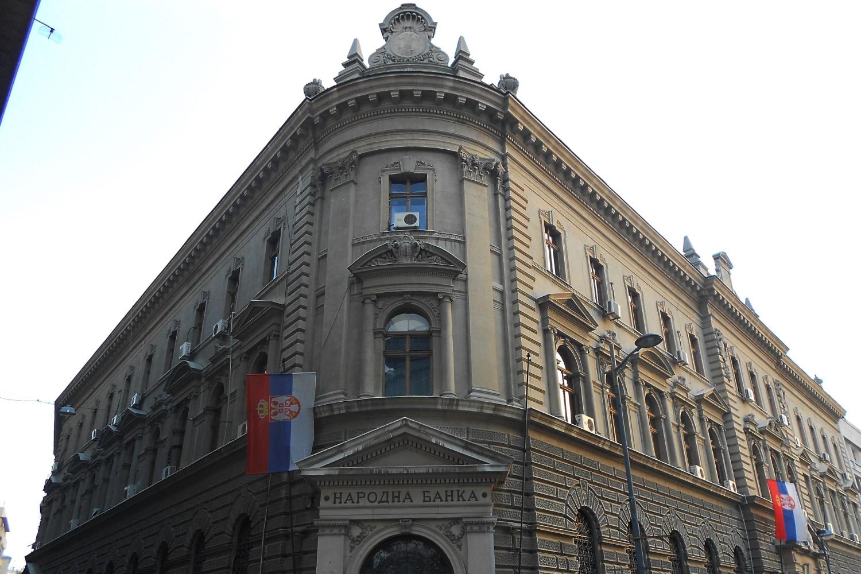 Зграда Народне банке Србије у улици Краља Петра у Београду (Фото: Wikimedia/NMedjedov)