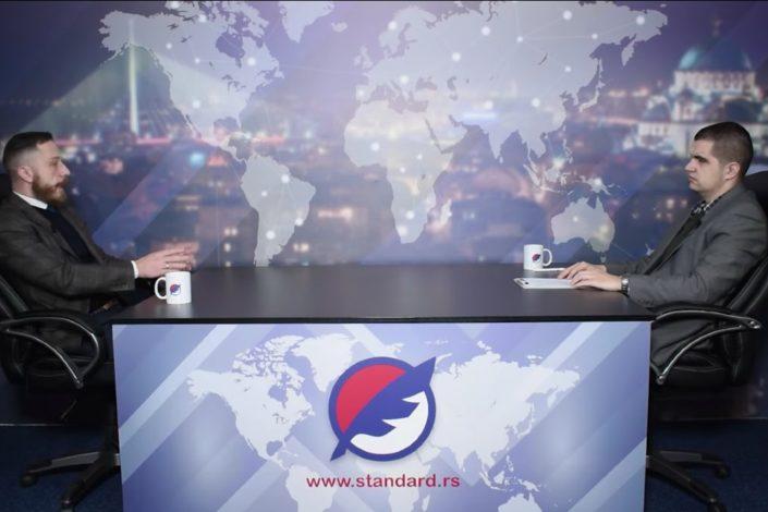 Dušan Dostanić: Antifa je neprijatelj svake nacionalne države
