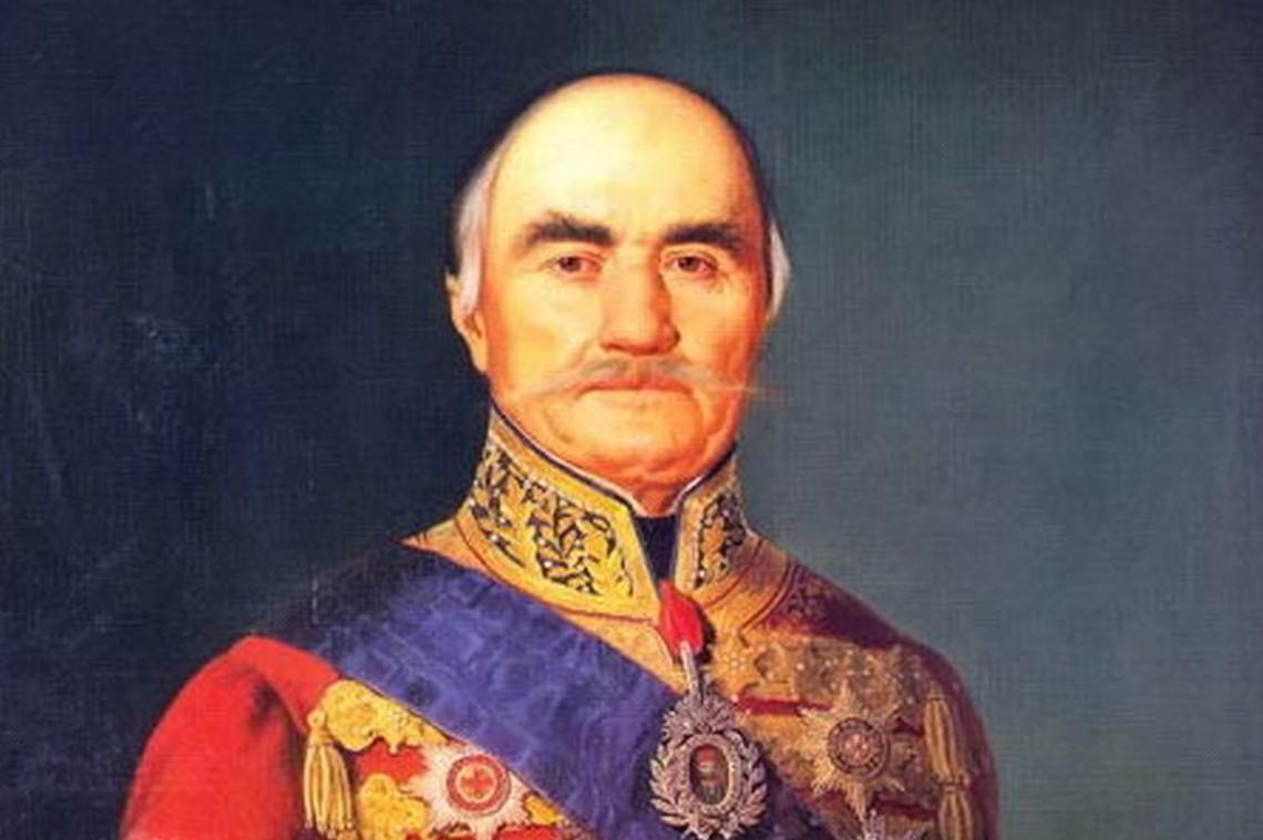 """Кнез Милош Обреновић"", Мориц М. Дафингер, 1848. (Фото: Wikimedia)"