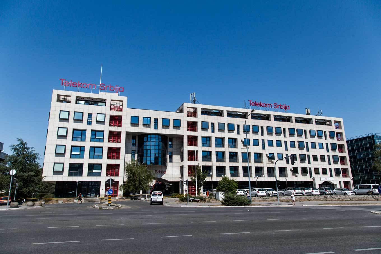 Пословна зграда Телеком Србија (Фото: mts.rs)