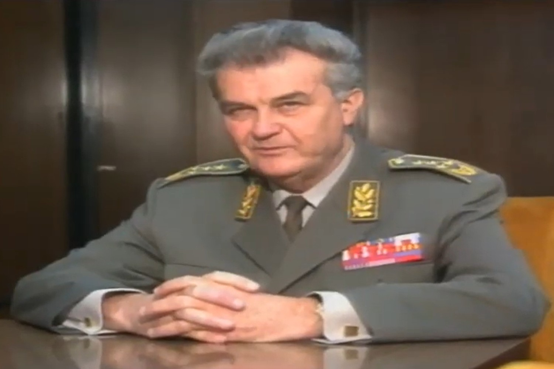 General Veljko Kadijević, bivši savezni sekretar za narodnu odbranu SFRJ (Foto: Snimak ekrana/Jutjub/Hjezinac 3)
