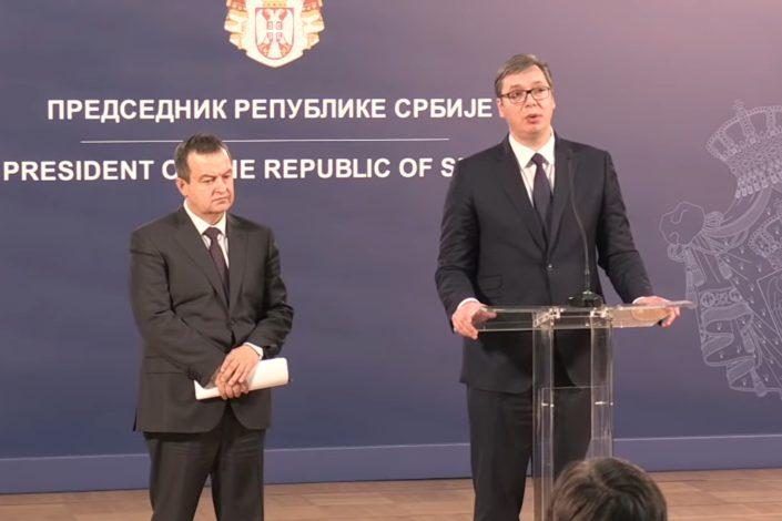 Vučić i Dačić oštro kritikovali izveštaj EP o Srbiji