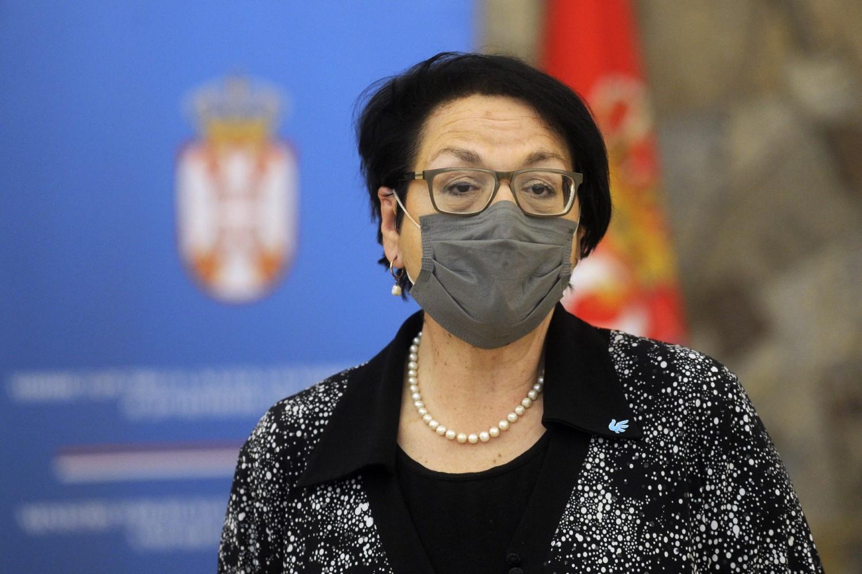 Гордана Чомић, министарска за људска и мањинска права и друштвени дијалог (Фото: Танјуг/Тара Радовановић)