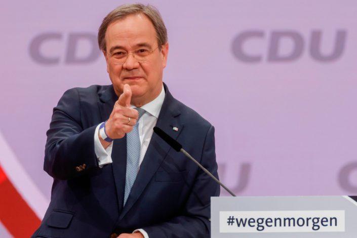 Armin Lašet i zvanično kandidat CDU za kancelara