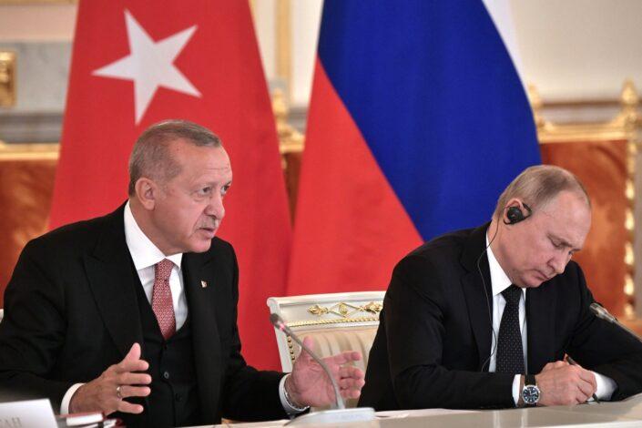 Erdogan rekao Putinu da se Izraelu mora očitati lekcija