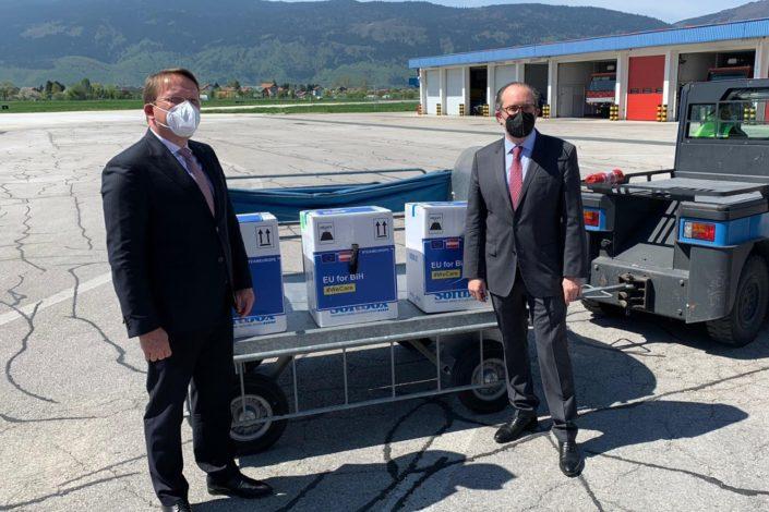 Vakcinska diplomatija EU na Balkanu