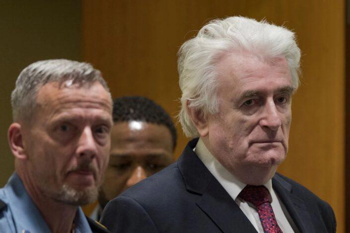 Karadžića prebacuju u zatvor u V. Britaniji, porodica strahuje za njegov život