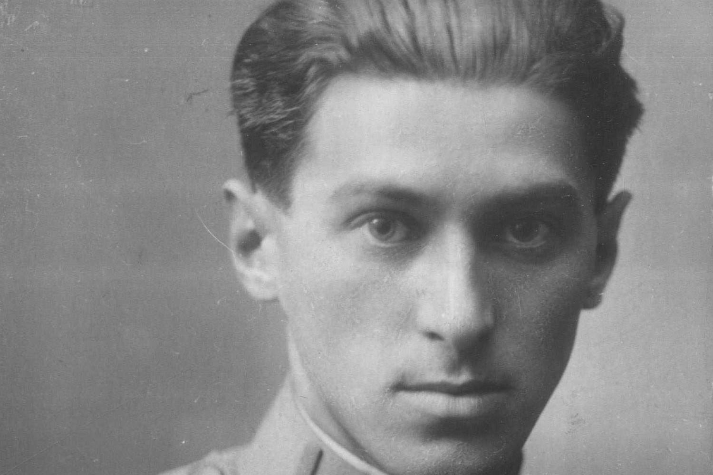 Miloš Crnjanski iz vremena službe u austrougarskoj vojsci 1914. godine (Foto: Wikimedia/eng.digital.nb.rs/Ἐπαμεινώνδας)