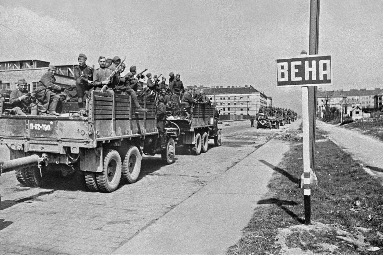 Ulazak Crvene armije u Beč maja 1945. (Foto: Wikimedia/A. Grigoryev)