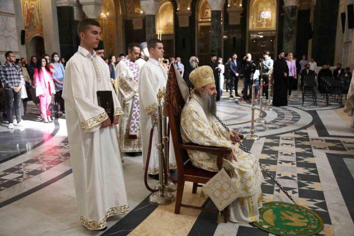 Patrijarh Porfirije: Okupili smo se da pokažemo jedinstvo SPC