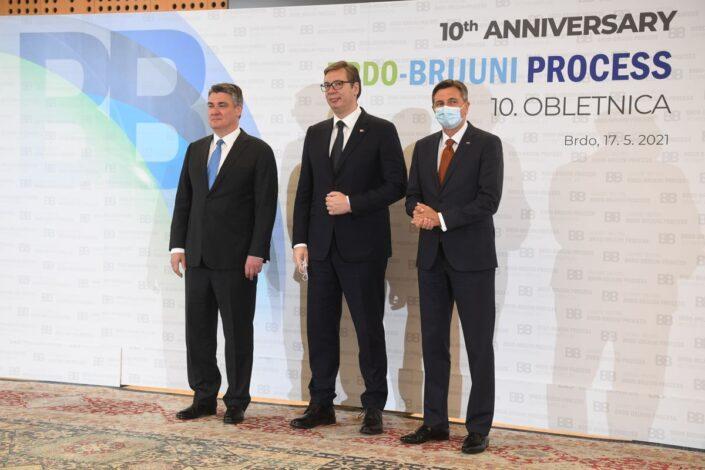 Vučić nakon samita Brdo-Brioni: Srbija za granice utvrđene u UN, drugi se nisu složili