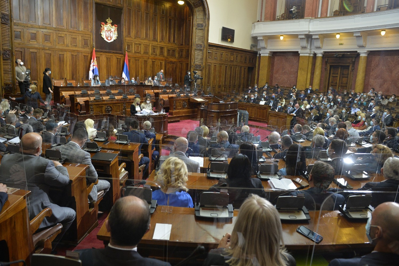 Седница Народне скупштине Србије (Фото: Танјуг/Раде Прелић)